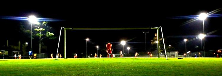 Soccer Field at Night