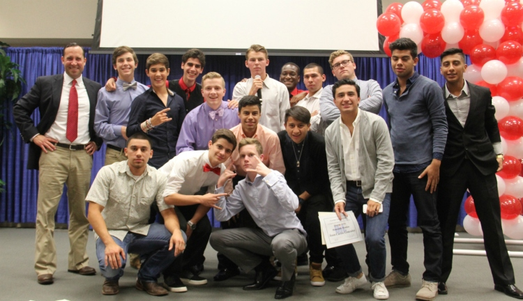 2015 THS Soccer Banquet (Group Picture)
